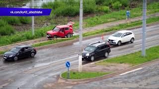 Обзор аварий  Трактор, прицеп, экскаватор   в кювете, Фаленский район