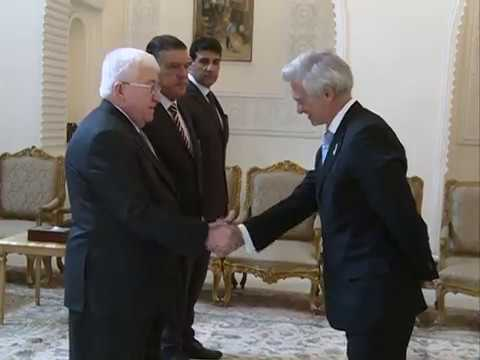EU Head of Delegation presented his credentials to the Iraqi Presidnet