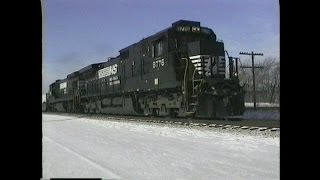 NorfolkSouthernTrain290.Erie,Pennsylvania.Date12-30-95.Time11:15am.
