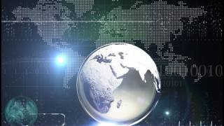 Transparent Glass Globe background loop copy rights free | Corporate presentation free videos