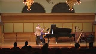 David Griffin, French horn recital September 2017