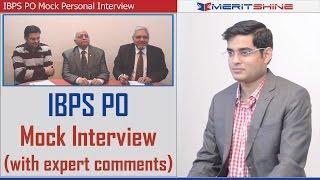 Bank Interview Preparation - IBPS Interview Mock 1