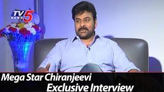 Mega Star Chiranjeevi Exclusive Interview On Khaidi No150 Movie  TV5 News