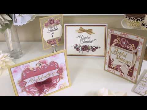 Creative Fun with the David Tutera Big Shot Starter Kit | Sizzix Big Shot Die Cutting Machine