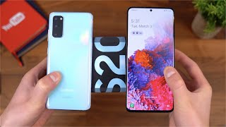 Samsung Galaxy S20 and Samsung Galaxy S20+ Unboxing!