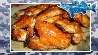 Как мариновать куриные крылышки в медово-горчичном маринаде