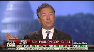 Do Republicans Support Obamacare Now? | Rand Paul on Healthcare Bill