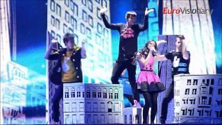Getter Jaani - Rockefeller Street - Eurovision 2011 - Estonia - From dress rehearsal
