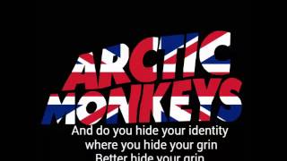 Arctic Monkeys-Plastic Tramp lyrics