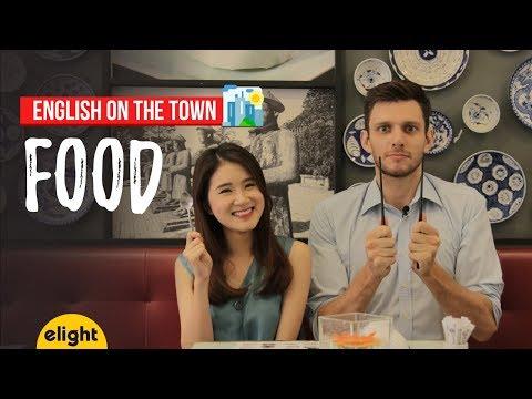 [Elight] Học tiếng Anh: Từ vựng về thức ăn | Food | English on the Town