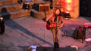1st performance of 'Carried' by KT Tunstall at the Minack May 2013.