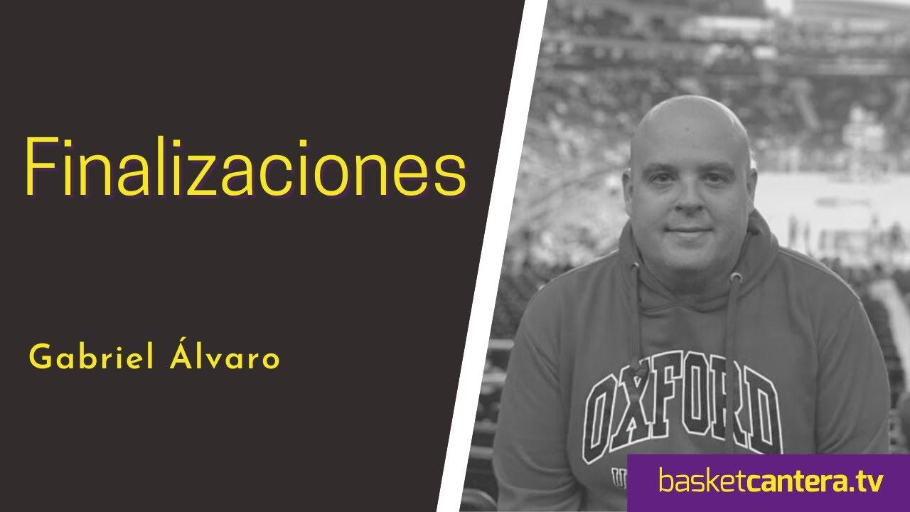 Análisis Técnico: FINALIZACIONES (acciones previas al aro). Por GABRIEL ÁLVARO (BasketCantera.TV)