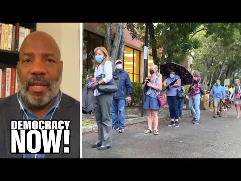 """""""A Fire That Has Spread Across the Country"""": Jelani Cobb on Voter Suppression in the 2020 Election"""