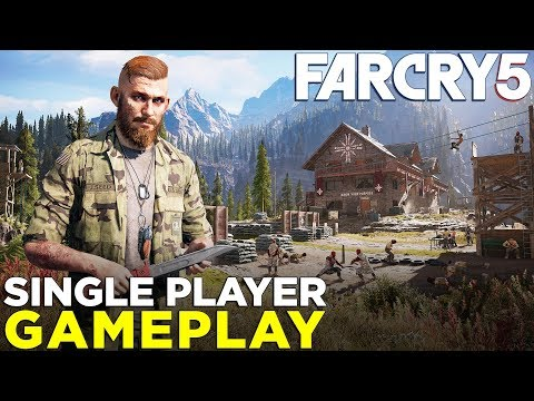 Far Cry 5 — 15 Minutes of SINGLE-PLAYER Gameplay!