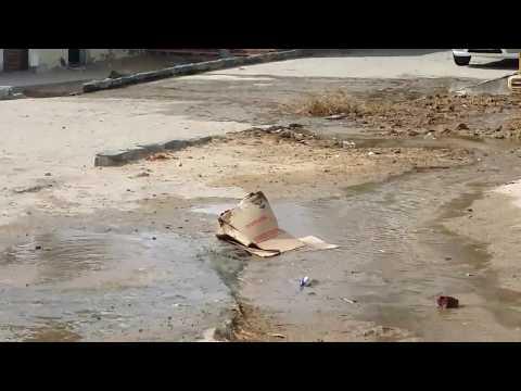 Disperdicio de água em Alagoinha PE