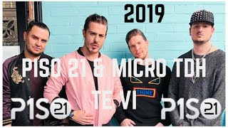 Te Vi Letra   Piso 21 Ft Micro TDH Lyrics
