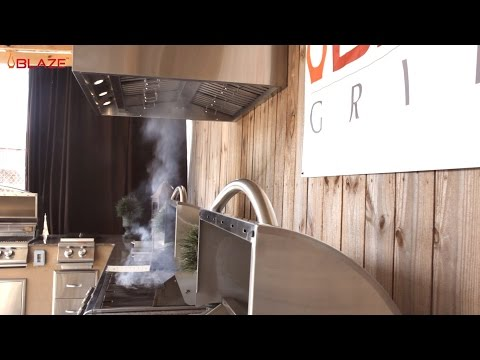 Blaze Outdoor Vent Hood Overview