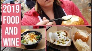 Food And Wine Festival From Disneyland 2019 | Disneyland Food