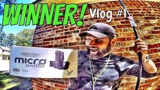 VENTURETUBE Vlog 1 The Day I Won A PowerPole Micro Anchor!!