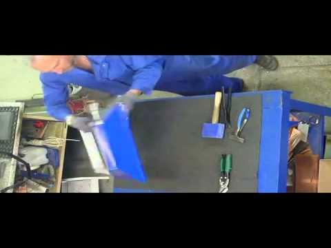 Изготовление сложного колпака на столб