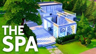 THE SPA // Sims 4 Speed Build