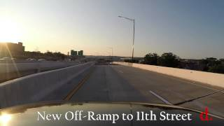 11th Street Bridge Project: Eastbound I-695 Exit to 11th Street SE