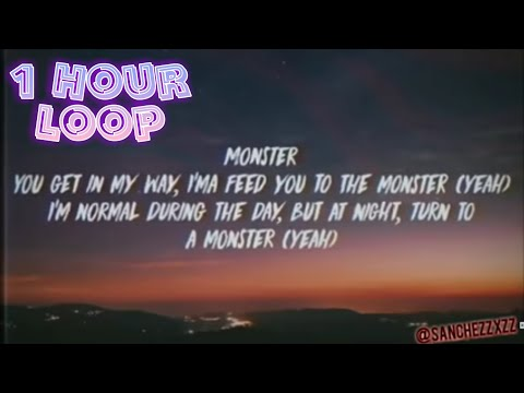 Eminem- Godzilla (Ft. Juice Wrld) [1 Hour Loop With Lyrics]