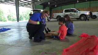 Dyersburg State CC holds annual EMT mass casualty incident training