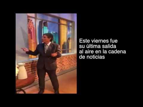 ¡Emotivo! periodista Carlos Montero le dice adiós a CNN
