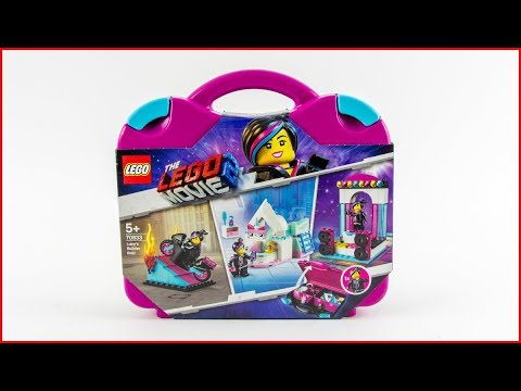 LEGO MOVIE 2 70833 Lucy's Builder Box! Construction Toy - UNBOXING