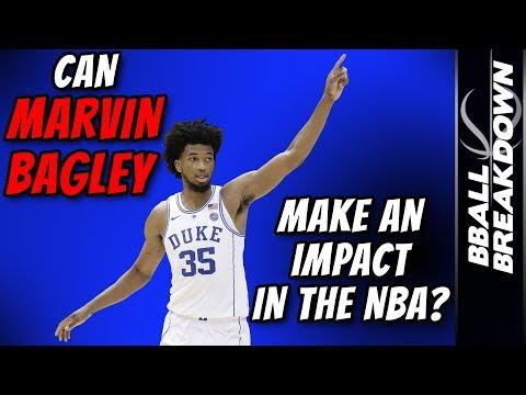 6072e0e13f5e play arrow. BBALLBREAKDOWN. 2018 NBA Draft  Can Marvin Bagley ...