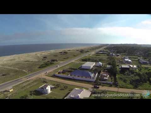 Video aéreo del Balneario Buenos Aires, Maldonado, Uruguay Desde Lo Alto