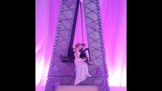 Eiffel Tower Wedding Cake Part 2