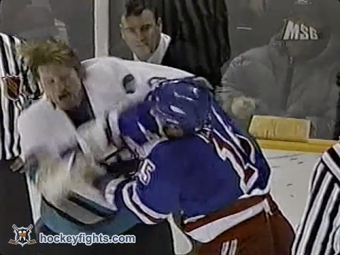 Marty McSorley vs. Darren Langdon