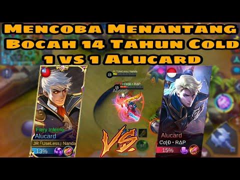 Mencoba Menantang Bocah 14 Tahun Cold Top Global Alucard 1vs1 Alucard - Mobile Legends