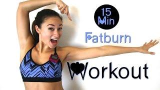 15 Min Hardcore Indoor Fatburn Workout #1 - HIIT - Hiermit klappts mit der Sommerfigur garantiert! by BodyKiss