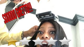 I WENT TO THE WORST REVIEWED HAIR STYLIST IN VEGAS...(GHETTO AF) Ft. Sunberhair