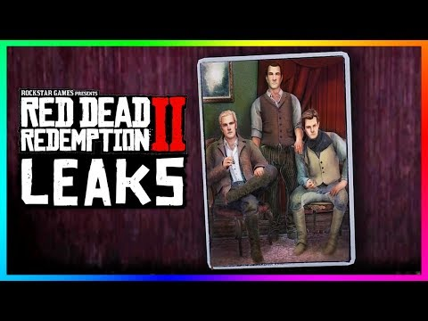 Red Dead Redemption 2 - HUGE LEAKS! Playing As Dutch, Arthur Lives, SECRET Endings & MORE! (RDR2)