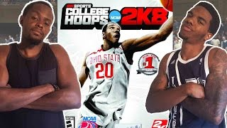 WHITE PEOPLE CAN SHOOT!! - College Hoops 2K8   #ThrowbackThursday ft. Juice