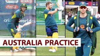 Smith and Warner Train At The Lord's Ahead Clash Vs England | Sports Tak