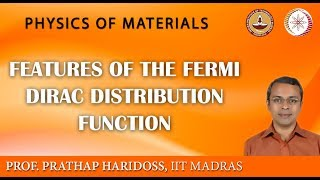 Features of the Fermi Dirac Distribution Function
