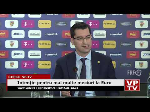 Intenție pentru mai multe meciuri la Euro