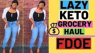 Lazy Keto Grocery Haul I Full Day Of Eating 2019