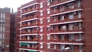 preview picture of video 'Nieva en Sant Boi de Llobregat 23 febrero 2013'