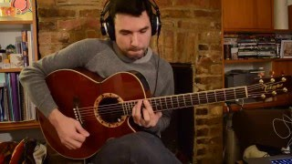 RMacoustics' pickup demonstration by guitarist Stefanos Tsourelis.