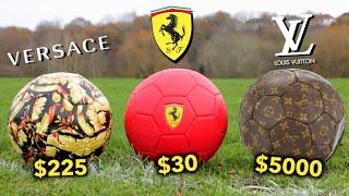 When Famous Brands Make Footballs