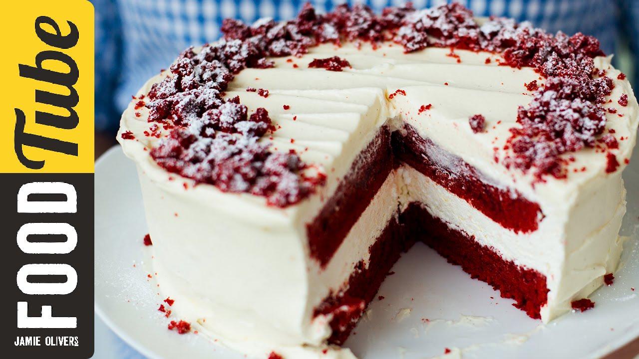 Strawberry Cake Recipe Jamie Oliver: Red Velvet Cheesecake With Eric Lanlard & Donal Skehan