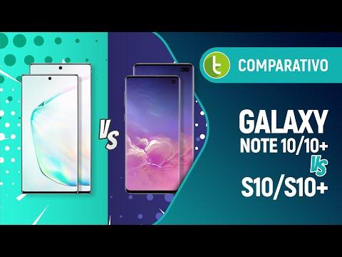 Galaxy Note 10/Note 10+ vs S10/S10+: qual top da Samsung vale mais a pena?   Comparativo