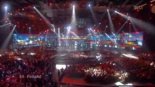 Finland Waldo's People Lose Control Eurovision Song Contest