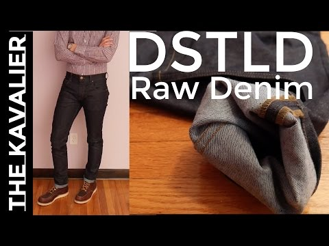 2 Months Wearing DSTLD Raw Denim | Review
